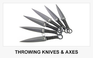 Throwing Knives & Axes